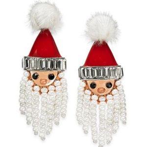 NWT 🔥 santa drop earrings